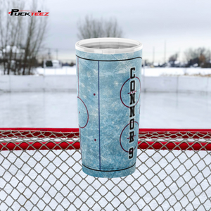 Personalized Hockey Mom Tumbler