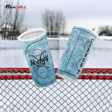 Load image into Gallery viewer, Personalized Hockey Mom Tumbler