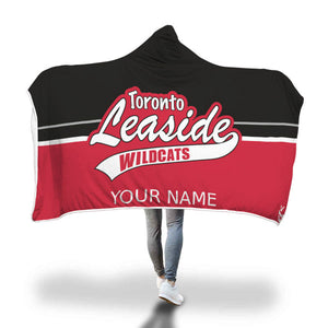 Leaside Wildcats Hooded Blanket