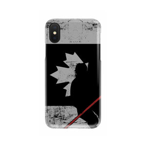 Canada Hockey Tough Phone Case