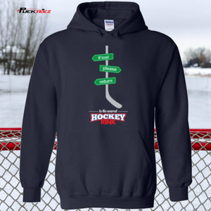 If Lost Hockey Hoodie