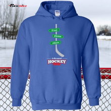 Load image into Gallery viewer, If Lost Hockey Hoodie