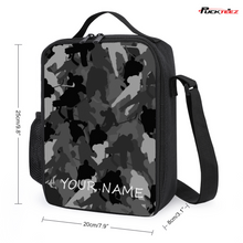 Load image into Gallery viewer, Personalized Hockey Camo Lunch Bag