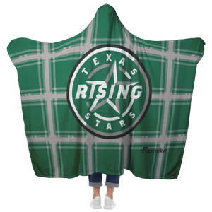 Texas Rising Stars Hooded Blanket