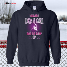 Load image into Gallery viewer, Skate Like a Girl Hoodie