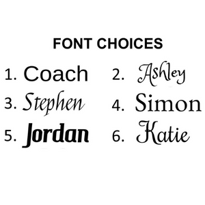 Six Different Fonts For Your Personalized Tumbler