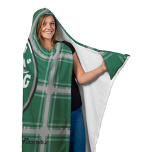 Load image into Gallery viewer, Texas Rising Stars Hooded Blanket