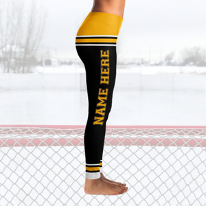 Boston Hockey Leggings