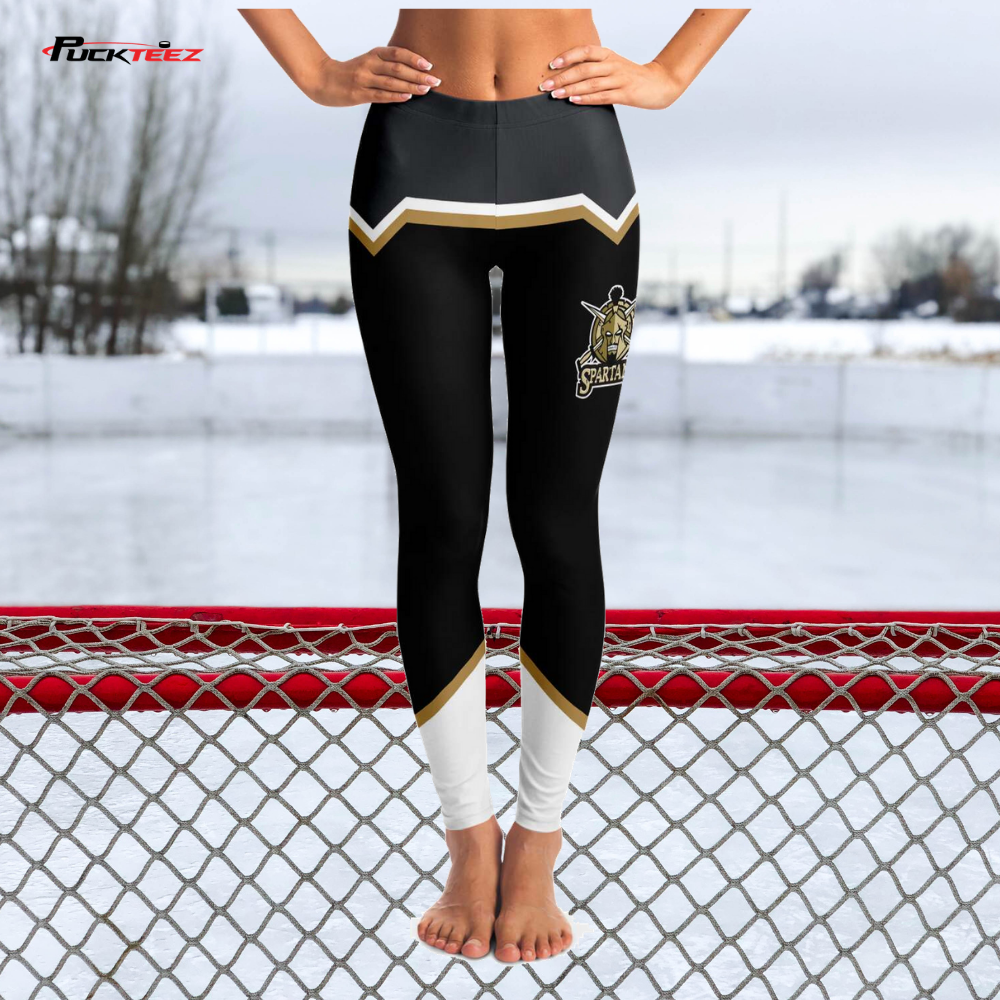 Southern Oregon Spartan Shield Leggings