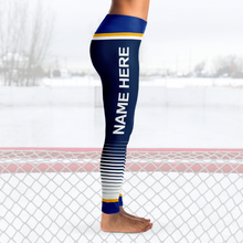 Load image into Gallery viewer, St Louis Hockey Leggings