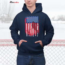 Load image into Gallery viewer, USA Hockey Flag Shirt
