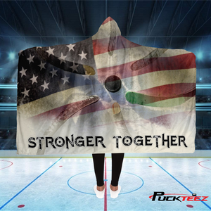 USA Stronger Together Hooded Blanket