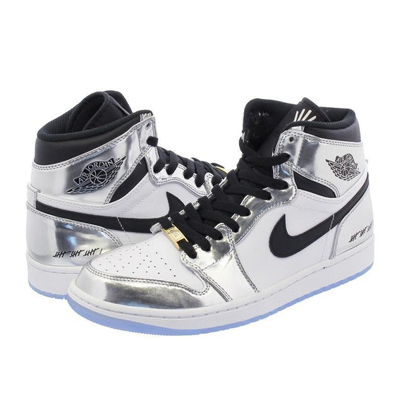 Air Jordan 1 Retro Hi Think Correct And Upgraded White Shoes