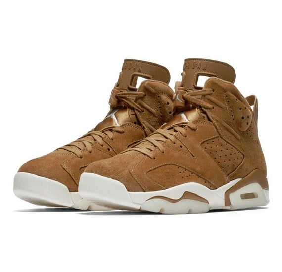 Air Jordan 6 Retro Golden Harvest Wheat Shoes
