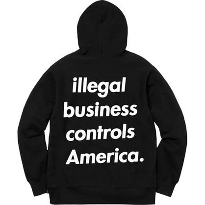 Supreme Illegal Business Hoodie Sweatshirt
