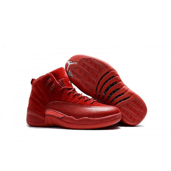 Air Jordan 12 Retro Suede Red Shoes