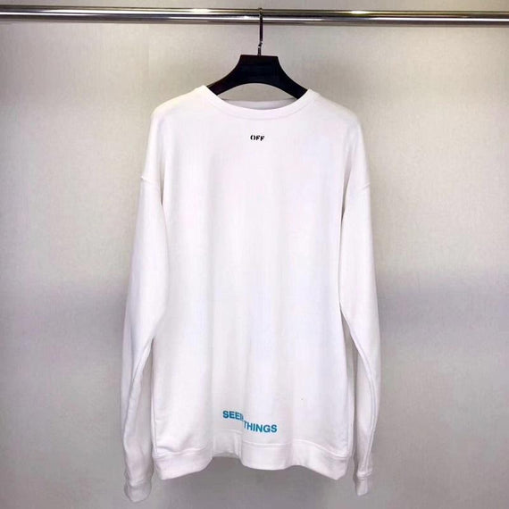 OFF WHITE Photocopy Over Hoodie Crewneck