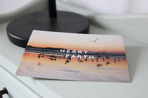 A heart for the earth postcard
