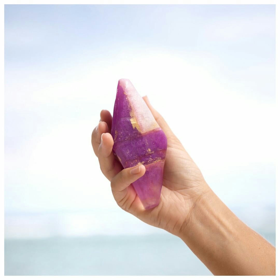 Amethyst Soap Quartz Crystal Soap - Sumavi