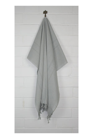 Allure Turkish Towel - Grey - Sumavi