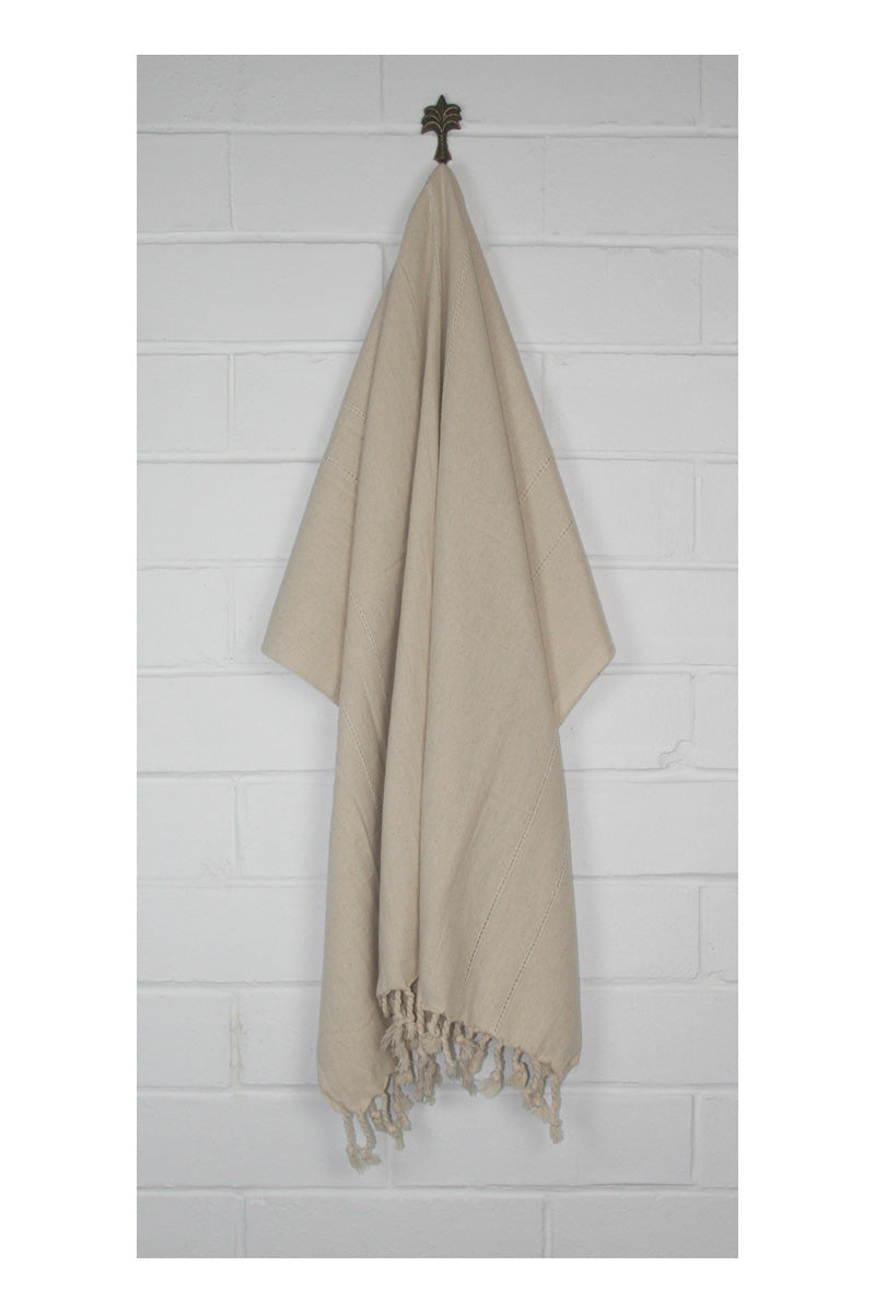 Allure Turkish Towel - Oatmeal - Sumavi