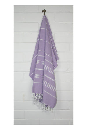 Drifter Turkish Towel - Lilac - Sumavi