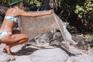 Wild One Turkish Towel - Sand - Sumavi