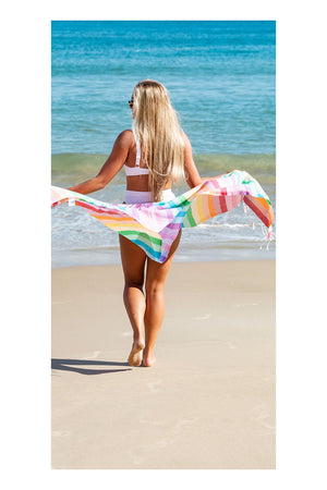Rainbow Turkish Towel - Bright - Sumavi