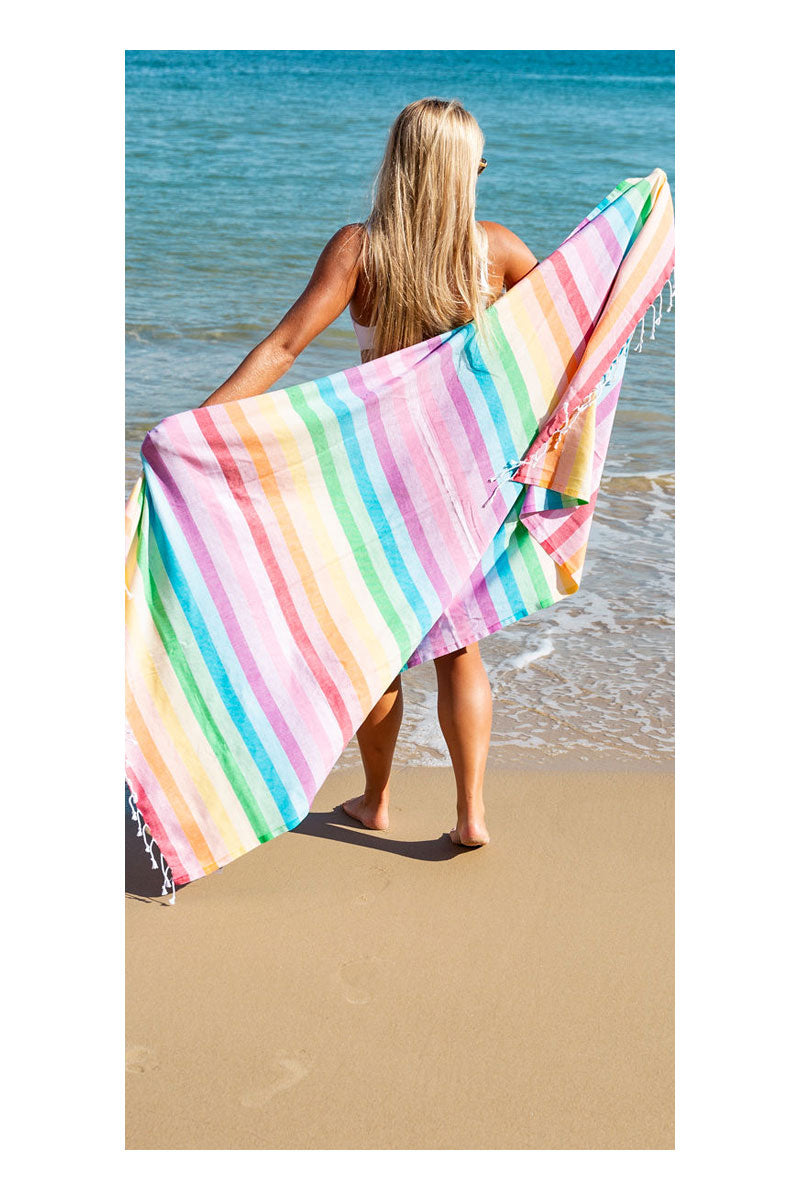 Rainbow Turkish Towel - Sumavi