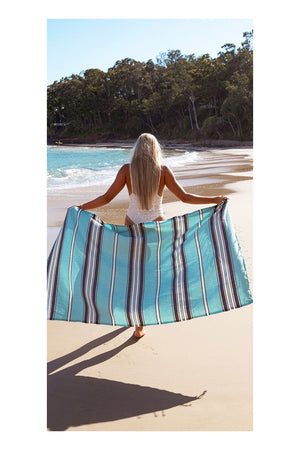 Siesta Turkish Towel - Mint - Sumavi