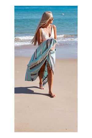 Siesta Turkish Towel - Oat - Sumavi
