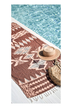 Warrior Turkish Towel - Earth - Sumavi