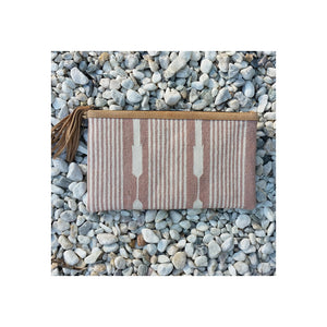 Dhurrie Clutch - Desert SOLD OUT - Sumavi