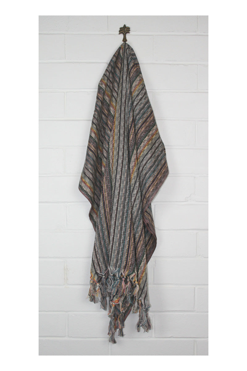 Noosa Nomad Turkish Towel - Brown - Sumavi