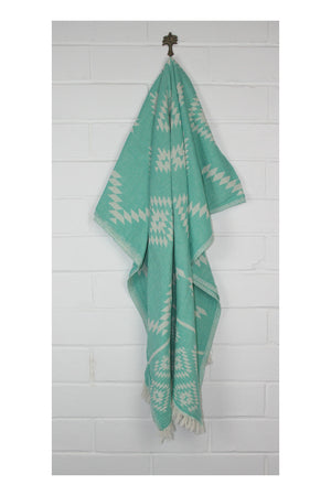 Wild One Turkish Towel - Lagoon - Sumavi
