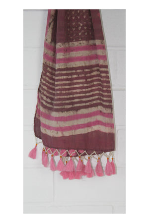 Tribe Scarf - Dusty Rose - Sumavi