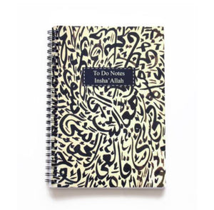 Calligraphy wiro notebook