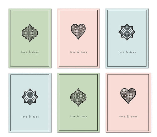 Love and Duas cards