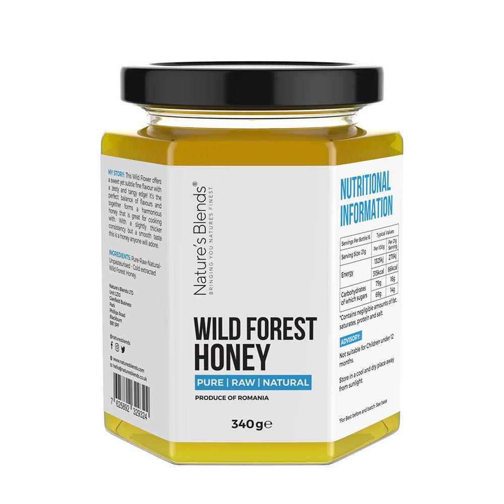 Wild forest honey (340g)