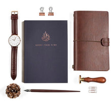 Load image into Gallery viewer, 'Rabbi zidni' luxe notebook