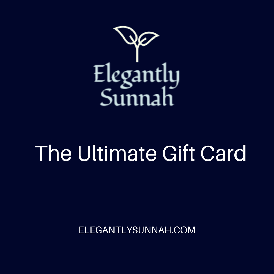 The Elegantlysunnah Gift card