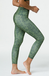 Onzie High Basic Midi Legging -Olive Cobra