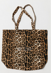 Onzie Canvas Tote Bag - leopard