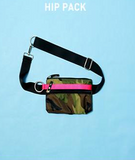 ANDI Urban Clutch - Black Leopard Pop Pink