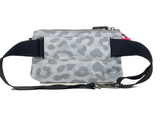 ANDI Urban Clutch - White Leopard Pop Pink