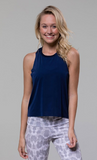 Onzie Eagle Tank - Navy
