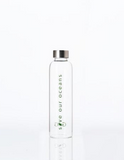 GLASS IS GREENER + CARRY COVER - 570 ML - BLOOM PRINT