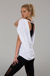 Onzie Drop Back Top - White