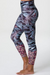 Onzie Graphic High Rise Midi Legging - Mother Nature