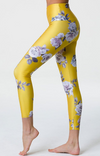 Onzie High Basic Midi Leggings - Golden Floral